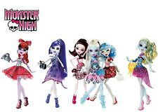 MONSTER HIGH Dot Dead Gorgeous Draculaura Abbey Ghoulia Lagoona Spectra Operetta