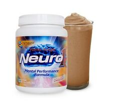 Nutrition53 NEURO1 Brain Food Mental Performance Formula 20 Servings CHOCOLATE