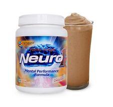 Nutrition53 NEURO1 Brain Food Mental Performance Formula 20 Servings CHOCOLATE
