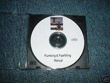 Plumbing water Pipe Fitting fitter Sewer Plumber Waste System Manual CD