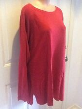 Christopher & Banks, NWT, Size XL, Red, Round Neckline, Long Sleeve Sweater