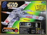 1997 Kenner - Star Wars Power of the Force - Electronic Power F/X X-Wing Fighter