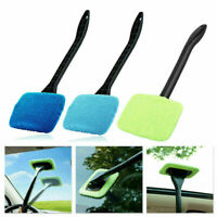 Microfiber Car Auto Wiper Windshield Cleaning Glass Window Cleaner Brush Tool JF