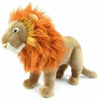 Leif the Lion | 17 Inch (Without Tail!) Stuffed Animal Plush Lion Cat