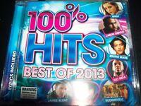 100% Hits Best Of 2013 Various (Bruno Mars Ed Sheeran Illy Paramore Flo Rida) CD