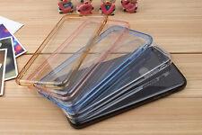 iPhone 6 & 6 Plus Audio Dust Cap Case Black Blue Pink Hard Back Clear Gel Z-TECH