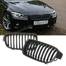 Black Front Kindey Grilles Grill 3 Series For BMW F30 F31 3 Series 2012-2014