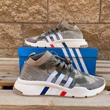 Adidas EQT Support Mid Adv Camo Trace Khaki Men's Athletic Sneaker B37513 US10