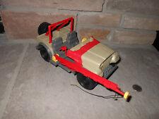 Jurassic Park 1993 Jeep Bush Devil Tracker vehicle for parts D