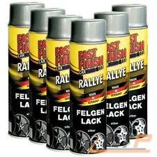 3x 500ml Felgenlack Silber Spraydose 292842 fast Finish Car Rallye LACKSPRAY