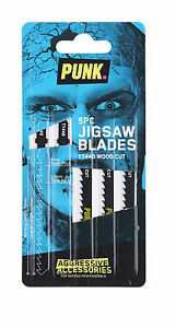 Jigsaw Blades (5 Pack) T144D *Authorised Distributors PUNK® Wood Cutting 4mm