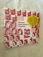 VINICIUS CLARA NUNES TOQUINHO CD POETA MOCA E VIOLAO BF848 2008 WORLD MUSIC