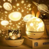 Star Sky Projection Light USB LED Galaxy Projector Quality Lamp Night R2R8
