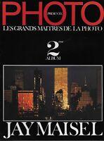 MAGAZINE PHOTO PRESENTE : LES GRANDS MAITRES DE LA PHOTO N° 2 - JAY MAISEL