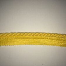 Sunbrella outdoor Trim 1/4 inch Buttercup cord with tape (5 Yards)