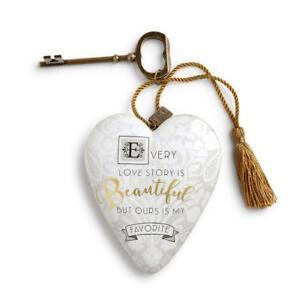 DEMDACO 1003480123 Art Heart Love Story Art Heart