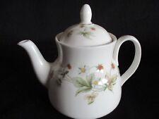 Vintage Royal Doulton china STRAWBERRY CREAM small Teapot