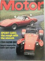 Motor Magazine - 1 April 1978 - Honda Civic, Cavalier Centaur, Fiat Abarth