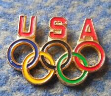 NOC USA OLYMPIC GREATER PIN BADGE