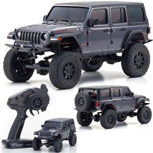 Kyosho 32521GM Mini-Z 4X4 Jeep Wrangler Unlimited Rubicon Granite Mt RTR Crawler