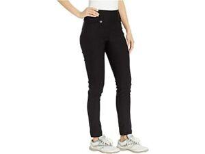 New Callaway Women's XL Tech Stretch Solid Golf Pants Black