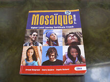 MOSAIQUE Leaving Cert French Higher Level 2nd edition excellent con Ireland v