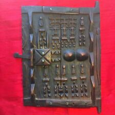 More details for fine old dogon granary door second quarter 20th century mali west africa tribal