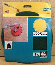 Wolfcraft 1 Haft- Schleifvlies K 280 grün  225mm 3168000