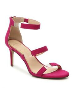 NEW JESSICA SIMPSON PINK RED MARY JANE PUMPS SANDALS  SIZE 8 M $110