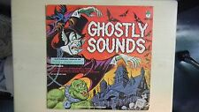 Peter Pan Spooky Sound Effects Record GHOSTLY SOUNDS LP 60s