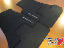 2012-2015 Dodge Challenger Premium Carpet Front and Rear Floor Mats Mopar OEM