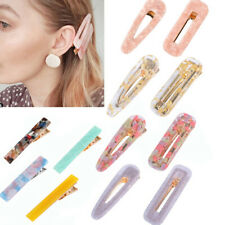 12x Resin Acrylic Hair Clip Geometric Alligator Clips Hair Barrettes 'Hair Cl SU