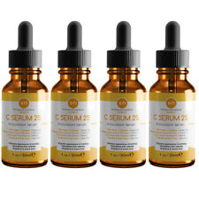 Anti Aging Vitamin C Serum Beauty Source Original C25 Pure Vitamin Serum (4PK)