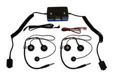 Terraphone Clubman Intercom Kit - 2 Full Face Headsets - Race, Rally, Motorsport