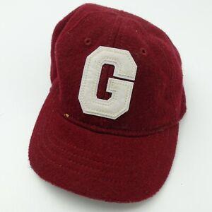 Baby Gap G Red Ball Cap Hat Adjustable S/M Baseball Kids