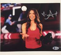 LA Kings/Angels TV Host ALEX CURRY Autograph Signed 8x10 Photo 4 Beckett BAS COA