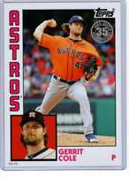 Gerrit Cole 2019 Topps Update 1984 Topps 5x7 #84-4 /49 Astros