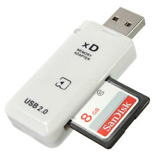USB XD Memory Card Reader Adapter For SanDick Olympus Fuji XD Camera Picture