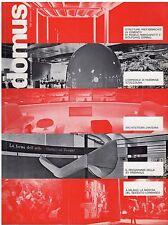 rivista ARCHITETTURA DOMUS ANNO 1973 NUMERO 526