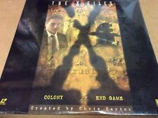 X-Files: Colony/End Game LaserDisc Duchovny Anderson SEALED BRAND NEW