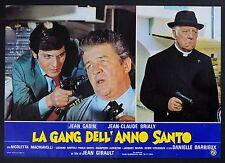 FOTOBUSTA 7, LA GANG DELL'ANNO SANTO L'année sainte GABIN, DARRIEUX, AFFICHE