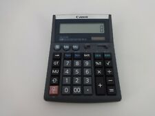 Canon Calculator TX 1210 E Euro Conversion Large Key Grey 12 Digit Angled Screen