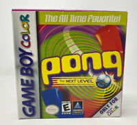 Pong: The Next Level (Nintendo Game Boy Color, 1999) GBC Complete Tested