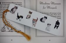 Bookmark - Cats with White Background
