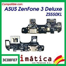 PLACA DE CARGA PARA ASUS ZENFONE 3 DELUXE ZS550KL MICRO USB MICROFONO CONECTOR