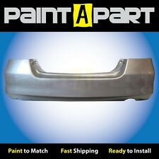 2006 2007 Honda Accord Sedan Rear Bumper Painted NH700M Alabaster Silver Met