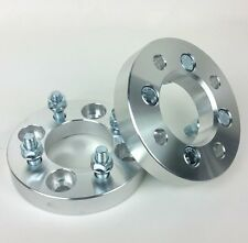 2 Pcs Conversion Wheel Spacers 4X108 Hub To 4X100 Wheel | 12X1.5 | 25MM 1 Inch