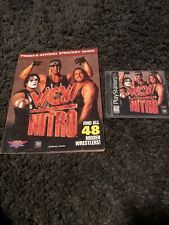 WCW NITRO: PS1 Playstation 1 Game And Official Strategy Guide