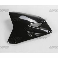 UFO Suzuki Radiator Rad Cover RM 85 2000 - 2018 Black