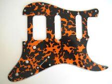 SCHLAGBRETT Pickguard Stratocaster HSS 3 Potis dreilagig Wild Cat Orange